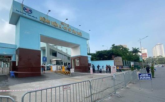 Gỡ bỏ phong toả Bệnh viện K cơ sở Tân Triều - Ảnh 1.