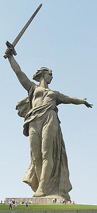 Những bức tượng sáng tác từ máu lửa chiến tranh bất diệt tại Nga - Ảnh 1.