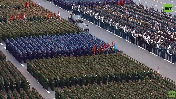 LB Nga long trọng tổ chức lễ duyệt binh kỷ niệm 76 năm chiến thắng trong Chiến tranh Vệ quốc vĩ đại - Ảnh 13.