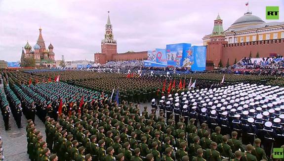 LB Nga long trọng tổ chức lễ duyệt binh kỷ niệm 76 năm chiến thắng trong Chiến tranh Vệ quốc vĩ đại - Ảnh 11.