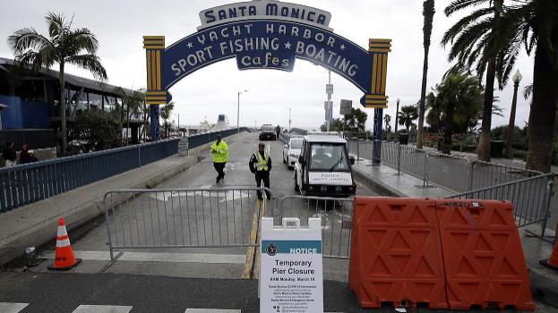 Cuộc sống mới đầy lạc quan và tích cực tại tâm dịch Santa Monica (Mỹ) - Ảnh 1.