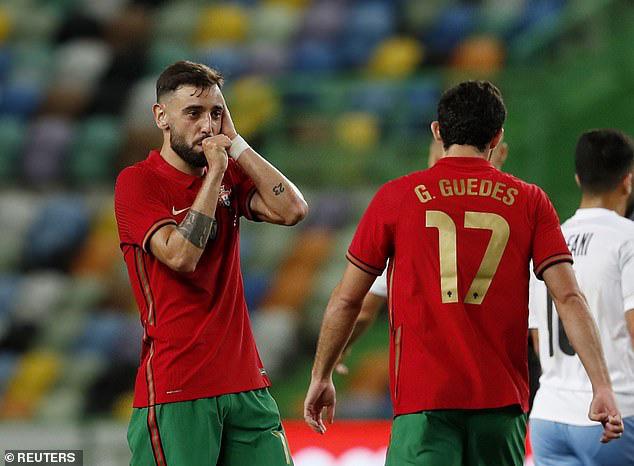 Bruno lập cú đúp, ĐT Bồ Đào Nha giành chiến thắng trước ĐT Israel - Ảnh 3.