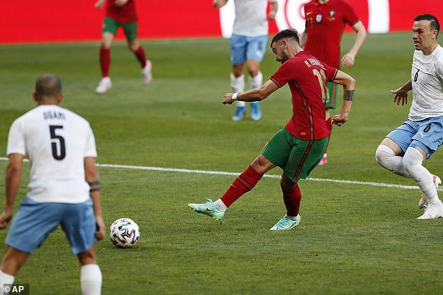 Bruno lập cú đúp, ĐT Bồ Đào Nha giành chiến thắng trước ĐT Israel - Ảnh 1.
