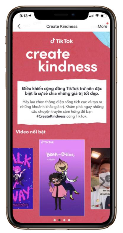 TikTok khởi động chiến dịch lan tỏa sự tử tế trong cộng đồng - ảnh 1