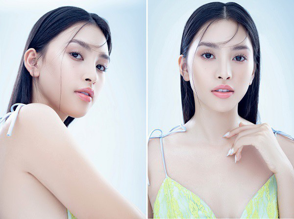 Vẻ đẹp trong veo của Hoa hậu Tiểu Vy - Ảnh 8.