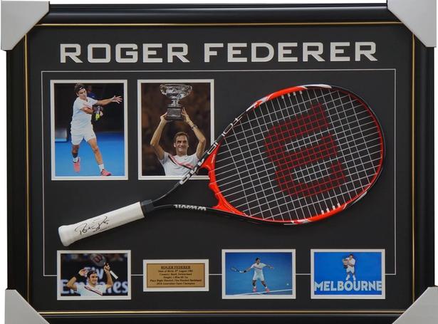 Roger Federer bán đấu giá kỷ vật để gây quỹ từ thiện - Ảnh 1.
