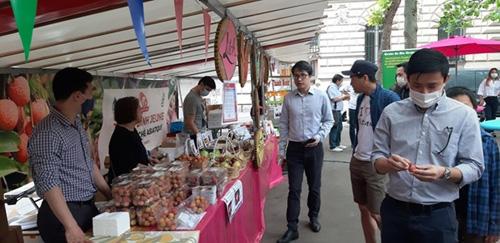 A Vietnamese cuisine festival is held outdoor at La Place Monge in Frances Paris on June 19.