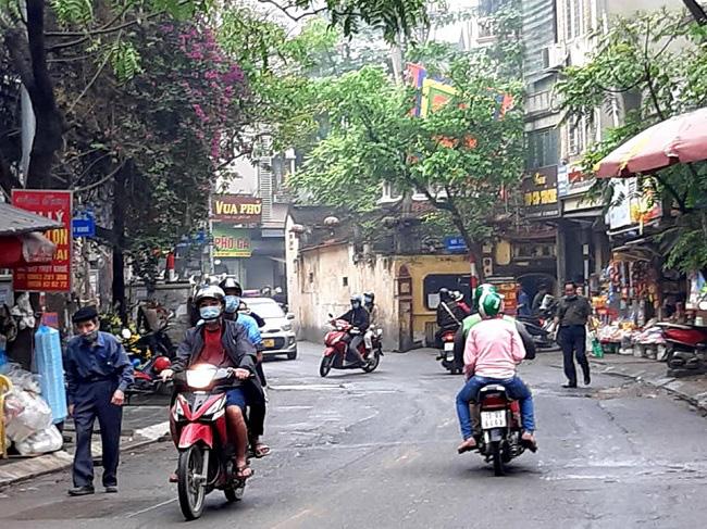 Present Thuy Khue Street. Photo: Tuan Ngo