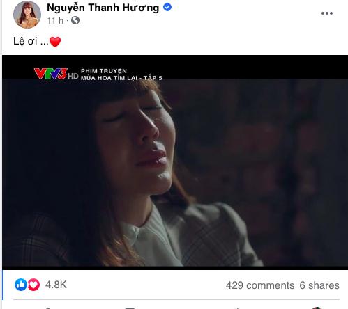 Thanh Hương khiến khán giả khóc theo vì cảnh say xuất thần trong Mùa hoa tìm lại - ảnh 7