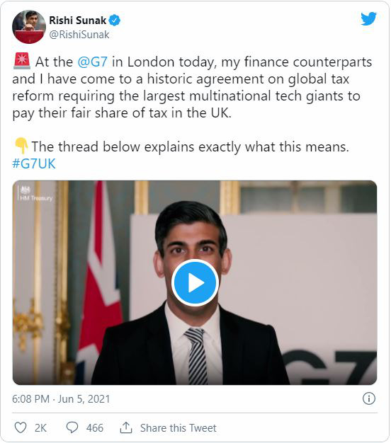 Thỏa thuận lịch sử về thuế doanh nghiệp toàn cầu tối thiểu của G7 có ý nghĩa như thế nào? - Ảnh 1.