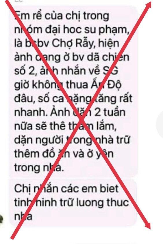 """TP Hồ Chí Minh bác tin giới nghiêm, lãnh đạo dương tính SARS-CoV2"""" - Ảnh 2."""