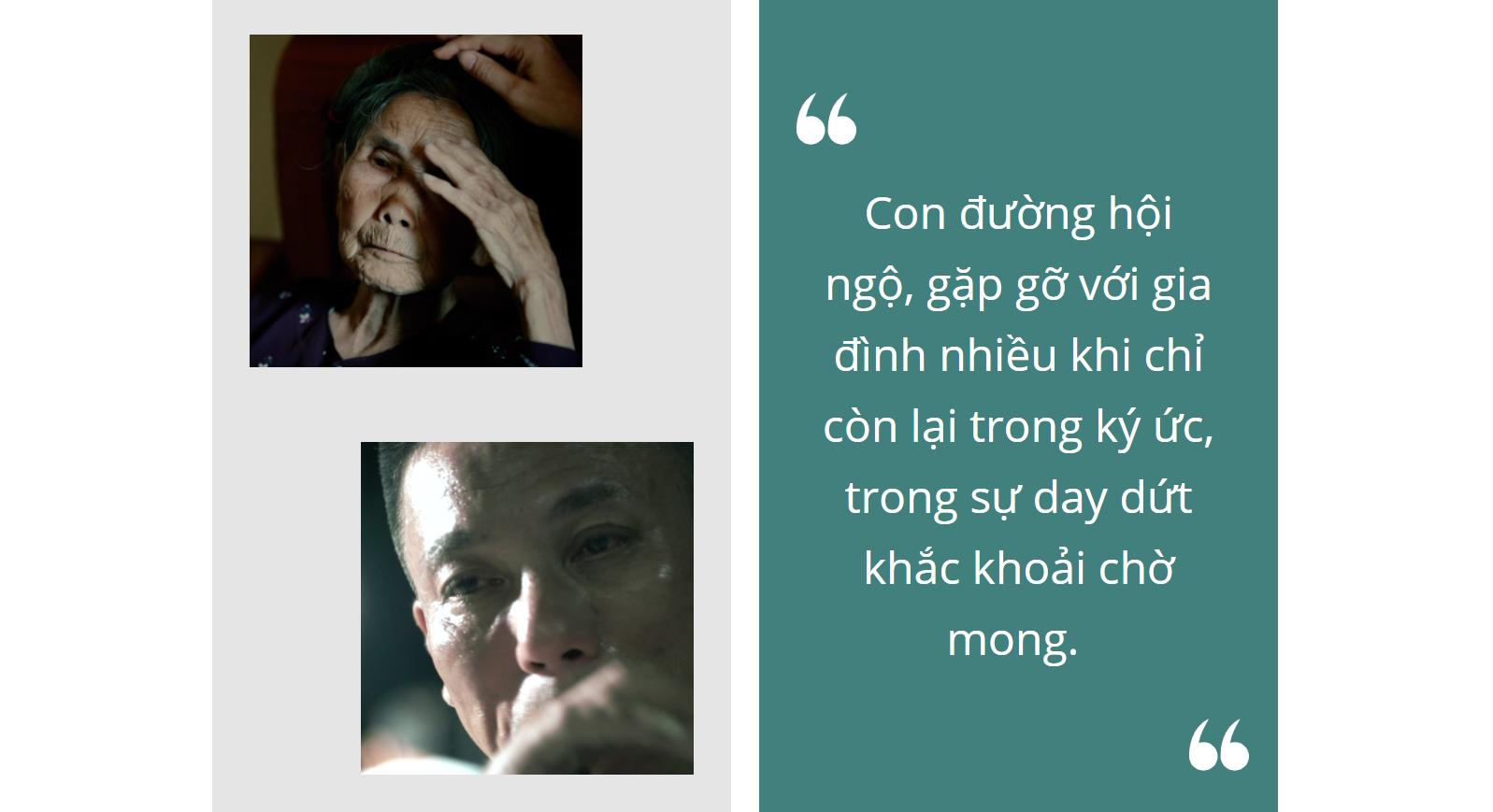 Đạo diễn Tạ Quỳnh Tư - VTV Đặc biệt Nẻo đường hội ngộ: Tôi làm phim theo linh tính mách bảo - Ảnh 1.