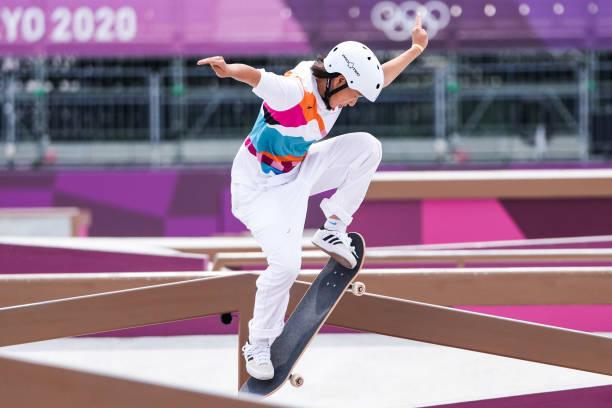 Olympic Tokyo | Nhà vô địch 13 tuổi đi vào lịch sử Nhật Bản - Ảnh 1.