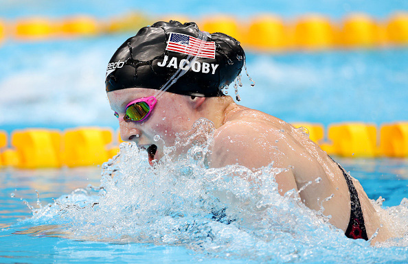 Olympic Tokyo 2020 sáng 27/7: Ấn tượng kình ngư 17 tuổi Lydia Jacobi - Ảnh 4.