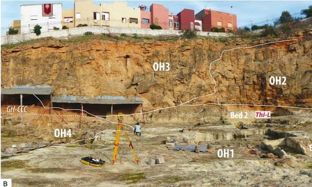 Phát hiện rìu thuộc thời kỳ đồ đá có niên đại 1,3 triệu năm ở Marocco - Ảnh 1.