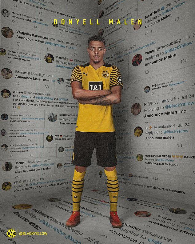 Dortmund chọn xong người thay thế cho Jadon Sancho - Ảnh 1.