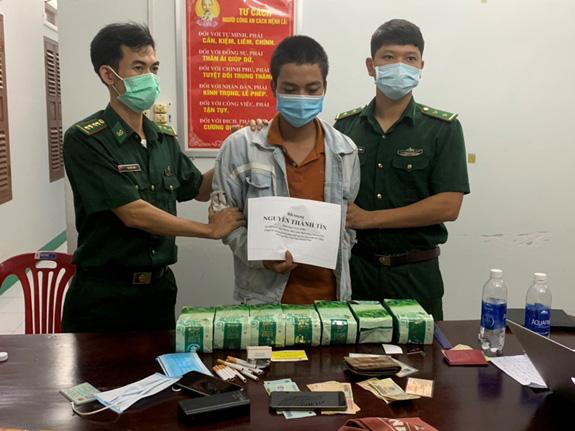 Bộ đội Biên phòng bắt 2 đối tượng, thu giữ 17kg ma túy tổng hợp - Ảnh 1.