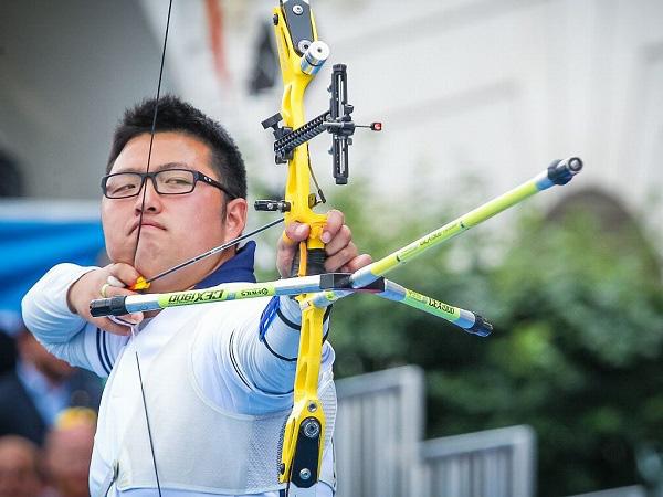 Bài thi đạt điểm tuyệt đối của cung thủ người Hàn Quốc Kim Woojin - Ảnh 3.