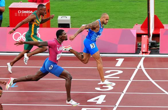Olympic Tokyo 2020 | Lamont Marcell Jacobs giành HCV điền kinh 100m nam - Ảnh 3.