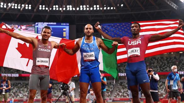 Olympic Tokyo 2020 | Lamont Marcell Jacobs giành HCV điền kinh 100m nam - Ảnh 5.