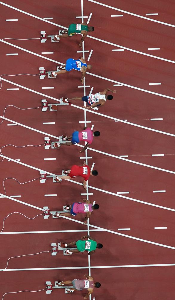Olympic Tokyo 2020 | Lamont Marcell Jacobs giành HCV điền kinh 100m nam - Ảnh 2.