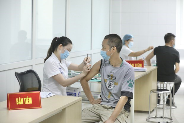 Vietnam may be able to produce a COVID-19 vaccine in September. (Photo: VNA)