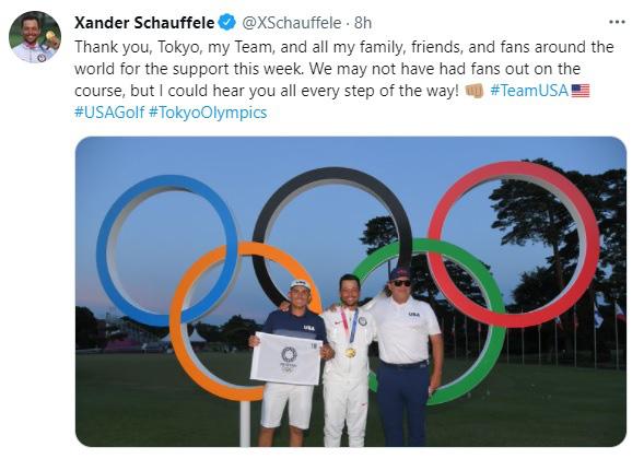 Xander Schauffele và tấm HCV ý nghĩa tại Olympic Tokyo - Ảnh 2.
