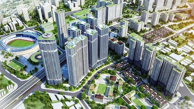 Phát triển các đại đô thị mới giúp giãn dân cho nội đô TP Hà Nội - ảnh 1