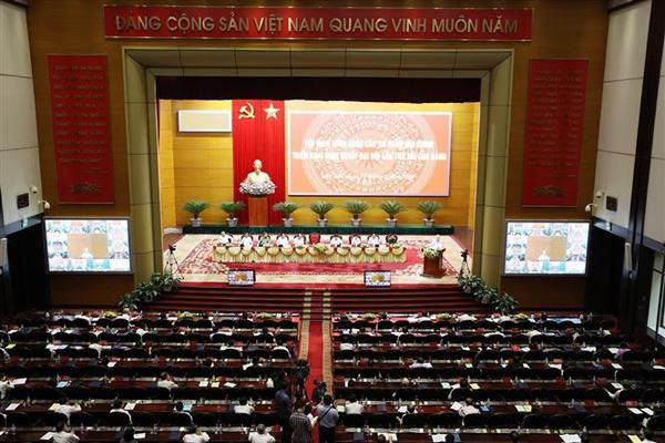 An overview of the conference. (Photo: VNA)