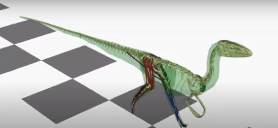 Chiếc đuôi dài giúp khủng long hai chân Coelophysis... chạy nhanh hơn - ảnh 1
