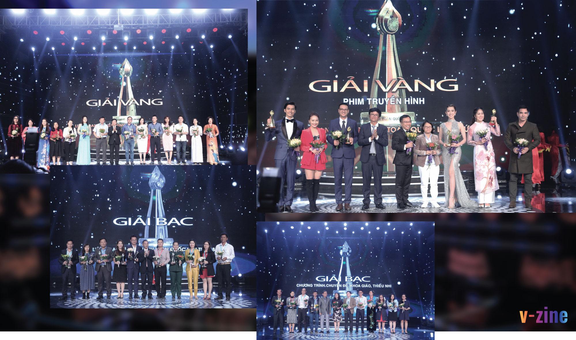 Các giải thưởng tại Liên hoan Truyền hình toàn quốc lần thứ 38