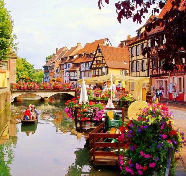 Colmar - Thành phố cổ tích của nước Pháp | VTV.VN