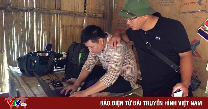 Phóng viên VTV và những hình ảnh không có trên sóng tại điểm lũ Yên Bái