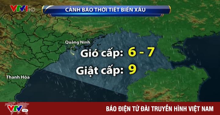 Áp thấp nhiệt đới tiến thẳng vào Hải Phòng, Quảng Ninh