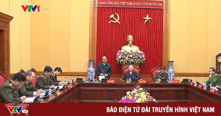 Họp Ban Thường vụ Đảng ủy Công an Trung ương