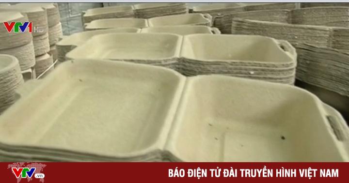 Bao bì sinh học tự hủy làm bằng rơm tại Malaysia