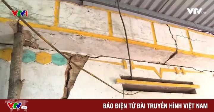 Sụt lún đất nghiêm trọng tại Thái Nguyên