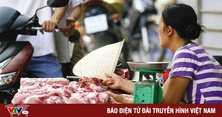 Điều chỉnh tăng giá thịt lợn tại TP.HCM