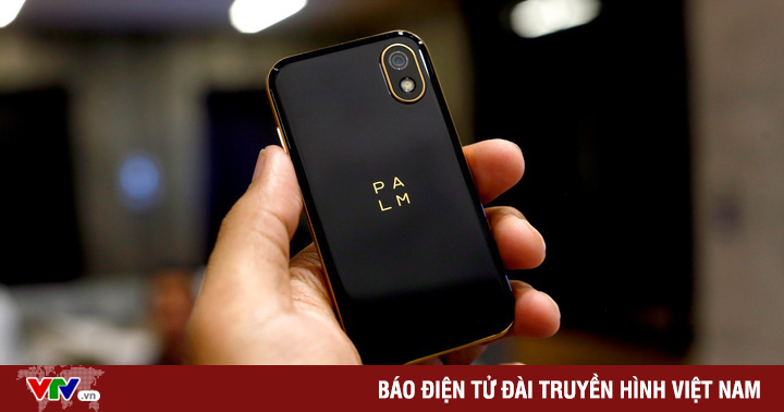 Huyền thoại Palm chính thức hồi sinh với chiếc smartphone ''hạt tiêu''