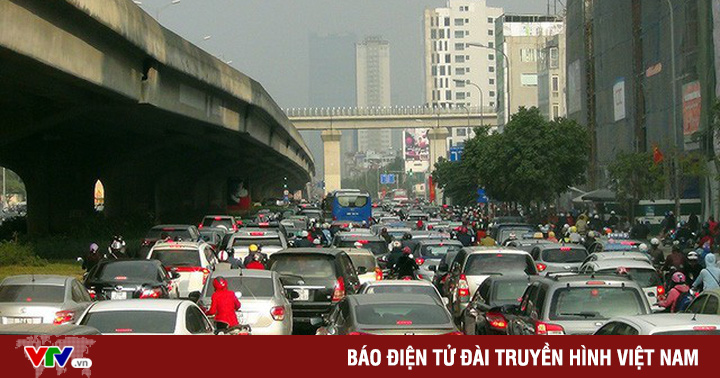 Hà Nội 'đếm' lưu lượng xe tại đường Vành đai 3 trên cao
