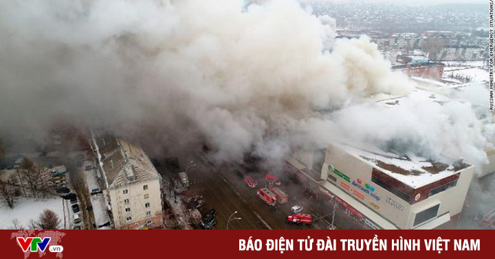 Khởi tố vụ án hình sự vụ cháy lớn ở trung tâm thương mại Nga