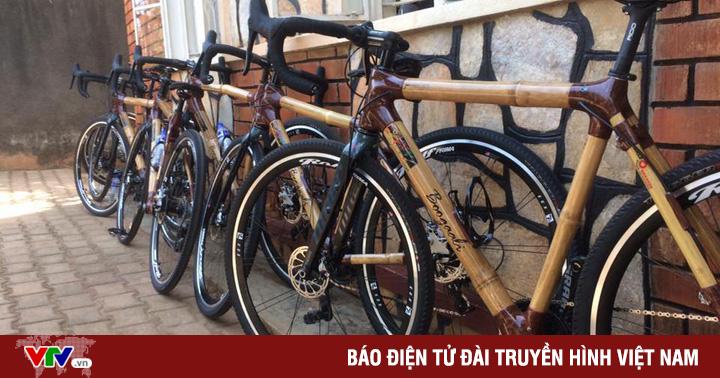 Độc đáo xe đạp làm từ tre thân thiện với môi trường