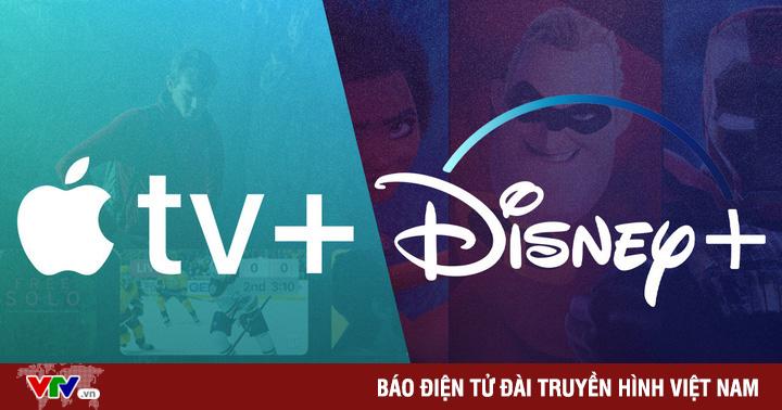 Disney+ và Apple TV+: ''Mèo nào cắn mỉu nào?''