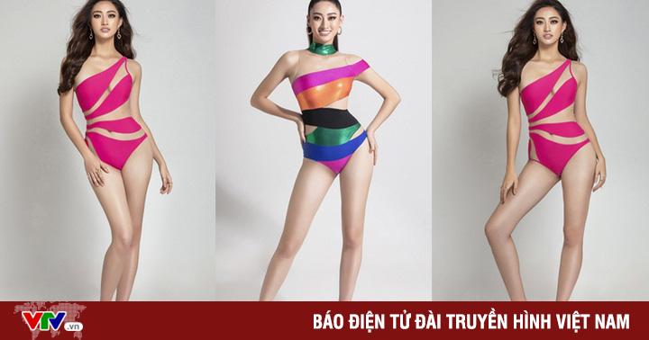 Lương Thùy Linh nóng bỏng với bikini phá cách, khoe chân dài 1,22m