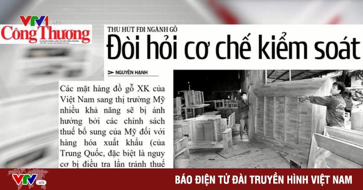 Vốn đầu tư trực tiếp nước ngoài FDI vào ngành gỗ Việt Nam tăng trưởng 216%