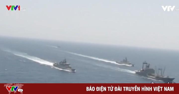Iran tập trận hải quân quy mô lớn