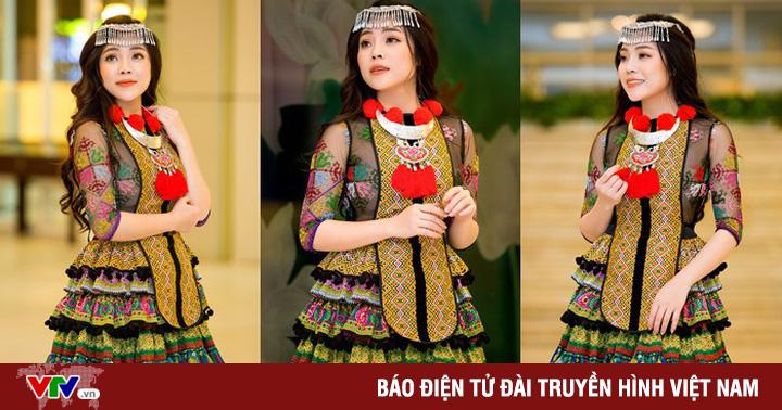 Sao mai Mai Diệu Ly hoá cô gái H''Mông xinh đẹp với trang phục nặng gần 10kg