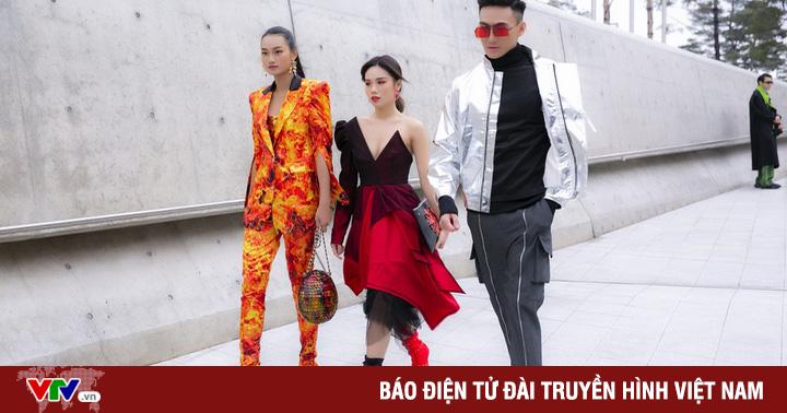 ''Lên đồ'' xuống phố, Top 3 The Face Vietnam 2018 nổi bật tại xứ Hàn