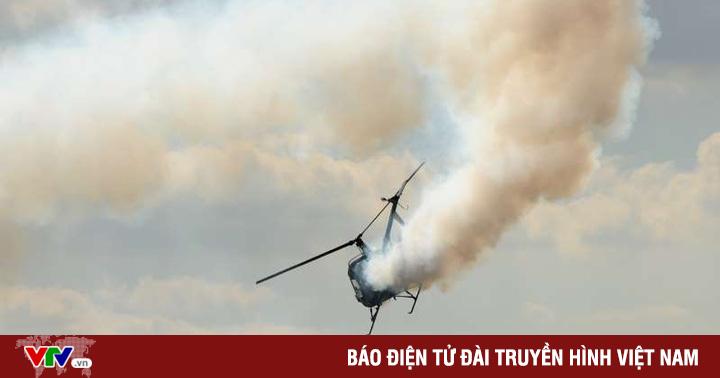 Rơi trực thăng cứu hộ ở miền Tây Iran, 5 người thiệt mạng