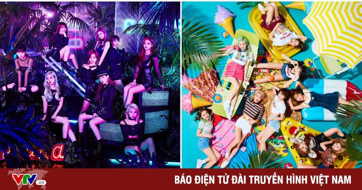 Twice chiêu đãi fan Nhật với 2 đĩa đơn liên tiếp